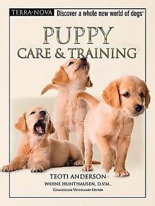 Puppy-Care-and-Training-by-Teoti-Anderson-2007-Hardcover-NO-DVD