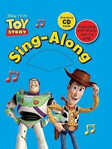 Disney Singalong: Toy Story (Disney Singalong Book),  | Hardcover Book | Good |