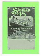 Stanley 45 Plane