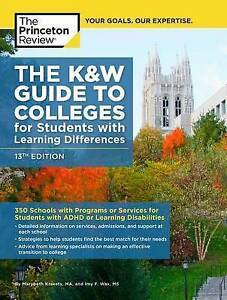 PRINCETON REVIE-K&W GUIDE COLLEGES FOR STUDEN13E  BOOK NEW