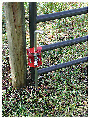Livestock Gate Anchor Round Tube 1.75 To 2-in.
