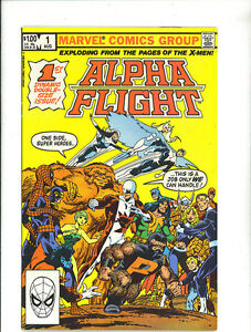 ALPHA FLIGHT  1 VFN/NM 1983 John Byrne ND