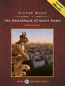 NEW The Hunchback of Notre Dame, with eBook (Tantor Unabridged Classics)