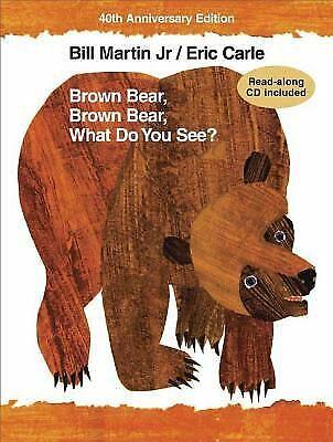 Brown Bear, Brown Bear, What Do You See?  (NoDust) by Martin, Bill, Jr. - Brown Bear Brown Bear Book
