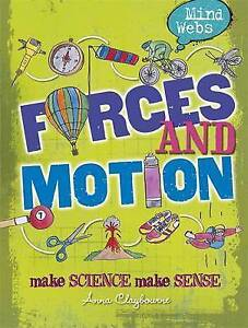 Forces and Motion (Mind Webs)-ExLibrary