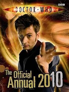 """""""AS NEW"""" BBC, Doctor Who: The Official Doctor Who Annual 2010 Book"""