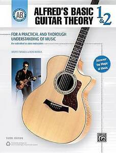 USED (GD) Alfred's Basic Guitar Theory, Bk 1 & 2: The Most Popular Method for Le