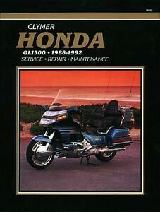 HON GL1500 88-92 BOOK NEU
