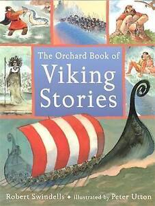 The Orchard Book of Viking Stories-ExLibrary