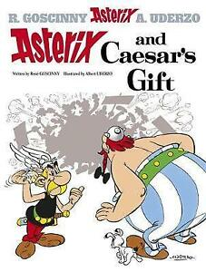 ASTERIX AND CAESAR'S GIFT - BRAND NEW BOOK