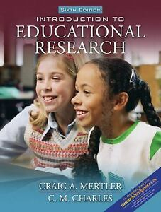 introduction to educational research 6th edition paperback