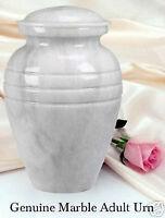 marble urn (white)