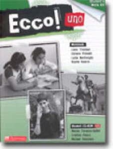 BRAND-NEW-Ecco-Uno-Students-Work-Kit-By-Liana-Trevisan-Book-with-CD-ROM