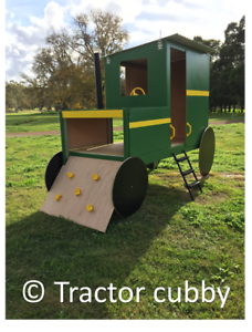 Tractor Cubby, Fort, Playground, Cubby House, Flat pack Bendigo Bendigo City Preview