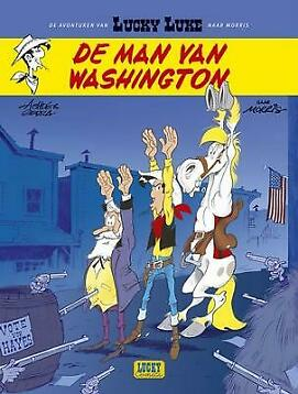 Lucky Luke - 03 - De Man Van Washington - Achde, Laurent