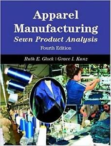 Apparel Manufacturing Sewn Product Analysis 4th Edition