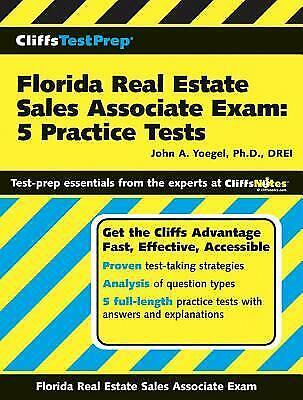 CliffsTestPrep Florida Real Estate Sales Associate Exam : 5 Practice (Florida Real Estate Sales Associate Practice Exam)