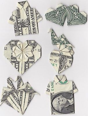 Money Origami - made from a Dollar Bill (LOVELY GIFT for your LOVERS)