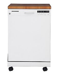 400 ONLY!!!!!!! GE 24-inch Portable Dishwasher