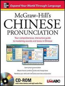 McGraw-Hill's Chinese Pronunciation with CD-ROM, Live, Abc