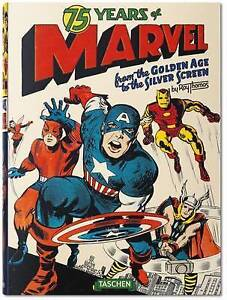 75 Years of Marvel: From The Golden Age to the Silver Screen - Book - Roy Thomas