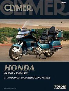 Clymer-Honda-Gl1500-1988-1992-1993-Paperback