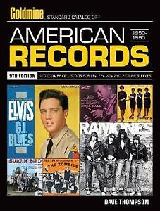New, Standard Catalog of American Records, 9th edition, Thompson, Dave, Book