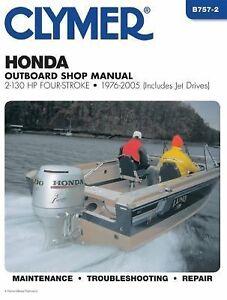 1976 2005 Honda 2 130 Hp Outboard Marine Boat Repair
