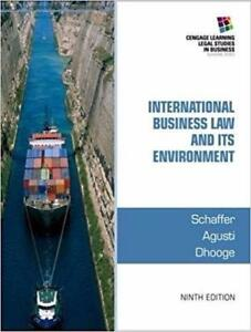 International Business Law and Its Environment 9th Edition