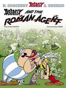 ASTERIX  AND THE ROMAN AGENT  Hard Cover - NEW BOOK