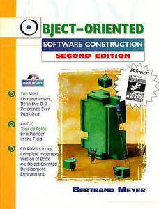 Object-Oriented Software Construction (Book/CD-ROM) (2nd Edition)-ExLibrary