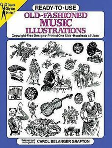 Old-Fashioned-Music-Illustrations-Dover-Clip-Art