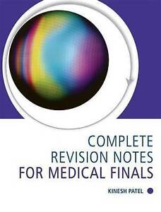 Complete Revision Notes for Medical Finals-ExLibrary