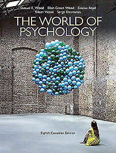 WANTED - THE WORLD OF PSYCHOLOGY 8TH EDITION - I CAN PAY $ 50