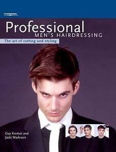 Professional Men's Hairdressing: The Art of Cutting and Styling-ExLibrary
