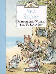 """VERY GOOD"" Brambly Hedge – Sea Story: Primrose and Wilfred Sail to Sandy Bay, B"