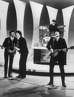 Ringo Starrs Schlagzeugfell aus der Ed Sullivan Show