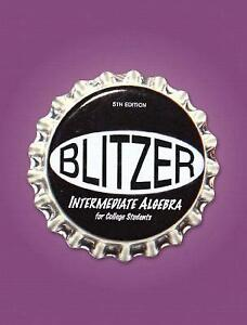 Blitzer college algebra books ebay blitzer college algebra 5th edition fandeluxe Gallery