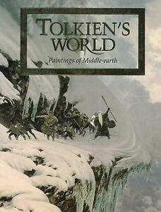Tolkiens-World-Paintings-of-Middle-earth-Various-Very-Good-Book