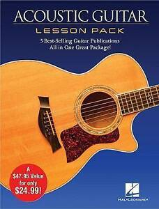 Acoustic Guitar Lesson Pack: 5 Best-Selling Guitar Publications in One Great Pac