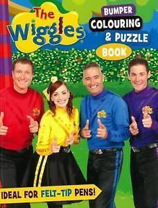The Wiggles Bumper Colouring & Puzzle Book