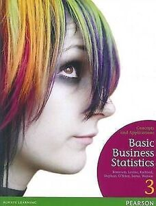 Basic Business Statistics Textbook Frankston Frankston Area Preview