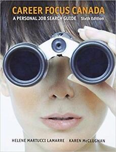 Career Focus Canada A Personal Job Research Guide 6th Edition