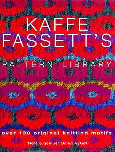 FASSETT,KAFFE-KAFFE FASSETTS PATTERN LIBRARY  BOOK NEW