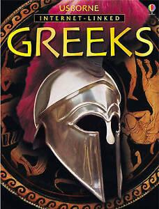 The Greeks (The Usborne Illustrated World History), Anne Millard, Susan Peach, V