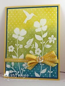 Stampin Up Wildflower Meadow Stamp and Embossing Folder London Ontario image 1