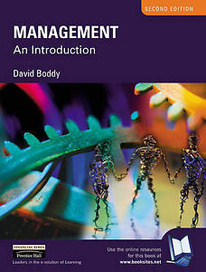 Management: An Introduction by David Boddy (Paperback, 2002)