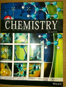 Chemistry 3rd Edition by Allan Blackman... Tanah Merah Logan Area Preview