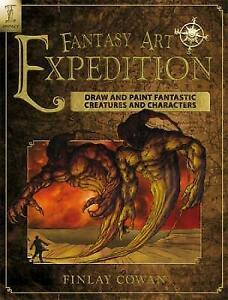 FANTASY ART EXPEDITION -  FINLAY COWAN PAPERBACK BOOK - NEW