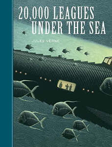 Jules Verne-20,000 Leagues Under The Sea BOOK NEW